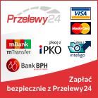 Przelewy24 sposoby platnosci