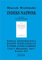 """Indeks 03. Indeks do: Józef Krzepela - """"Księga rozsiedlenia rodów ziemiańskich"""" (E-book PDF)"""