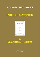 Indeks 06. Indeks nazwisk do Volumina Legum (E-book PDF)