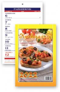 KL 3 Kuchnia i Ty – kalendarz tygodniowy formatu zeszytowego z paskiem magnetycznym
